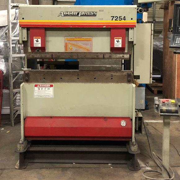Used Hydraulic Press Brakes - Bud's Machine Tools